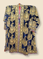 Gold-embroidered robe