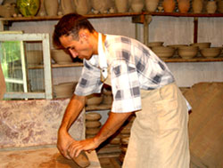 craftsman in Rishtan