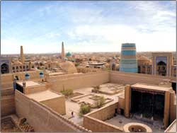 Khiva - city-museum in the open