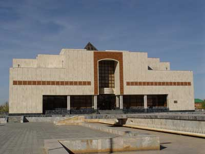 Savitsky Art Museum. The Karakalpak State Museum of Art named after Igor Savitsky