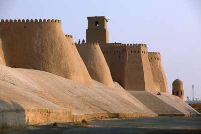 Walls and Gates of Khiva